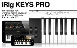 ご予約承ります!!iRig KEYS PRO IK Multimedia 新品 37鍵標準鍵盤 MIDIキーボード[IKマルチメデ...