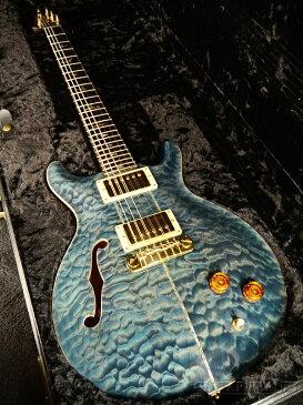 【中古】Paul Reed Smith Private Stock #409 SANTANA II Hollow -Aquamarine- 2002年製[ポールリードスミス,PRS][プライベートストック][サンタナ][Blue,ブルー,青][Electric Guitar,エレキギター]【used_エレキギター】