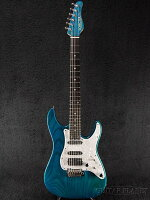 【】SchecterBH-1-STD-24-TransBlue/Rosewood-2014年製[シェクター][ブルー,青][Stratocaster,ストラトキャスタータイプ][ElectricGuitar,エレキギター]【used_エレキギター】