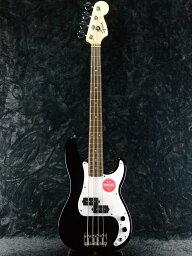 Squier Mini Precision Bass -Black- 新品 ミニギター[スクワイヤー][ブラック,黒][プレシジョンベース,プレベ][Bass]