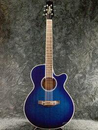TakaminePTU121CDBS~DeepBlueSunburst~新品[タカミネ][国産][ディープブルーサンバースト,青][ElectricAcousticGuitar,アコースティックギター,エレアコ]