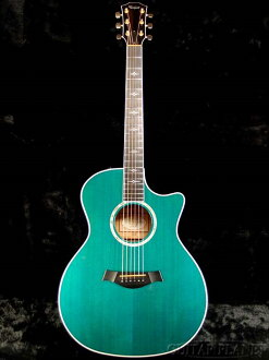 Taylor 614ce Koi Blue 2013年製造[泰勒][藍色,藍][Acoustic Guitar,吉他,akogi,Folk Guitar,民間吉他]