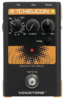 供TC HELICON Voice Tone E1新貨聲樂家使用的回聲/延期[TC赫利孔山,t.c.electronic,TC電子][Vocal Effector,效應器][Echo][Delay]