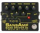 【正規品】Tech 21 SANSAMP BASS DRIVER DI Ver.2 新品 ベース用プリアンプ[サンズアンプ][ベースドライバー][Pre Amplifier][Effector,エフェクター]