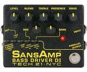 【正規品】【送料無料】Tech21SANSAMPBASSDRIVERDIVer.2新品ベース用プリアンプ[サンズアンプ][ベースドライバー][PreAmplifier][Effector,エフェクター]