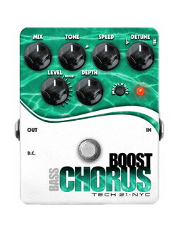 TECH21 SansAmp Bass Boost Chorus新貨基礎事情合唱[太陽放大器][基礎推進合唱][Effector,效應器]