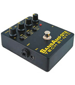 TECH21 SansAmp GT2 全新 Amp 模擬器 / 超速 / 失真 [sansamp] [Amp 模擬器,Orverdrive,失真] [效應器,效應器] [GT-2]