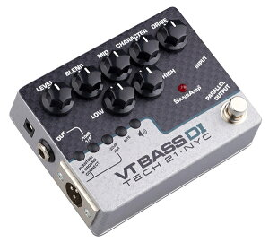 Live Lineパッチケーブル&9V電池付!!【正規品】TECH21 SansAmp VT Bass DI 新品 ベース用アンプ...