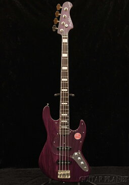 Bacchus WL4DX-ASH -Purple Oil/R/MH- 新品[バッカス][Craft Series,クラフトシリーズ][国産][パープルオイル,紫][Jazz Bass,ジャズベースタイプ][Electric Bass,エレキベース]
