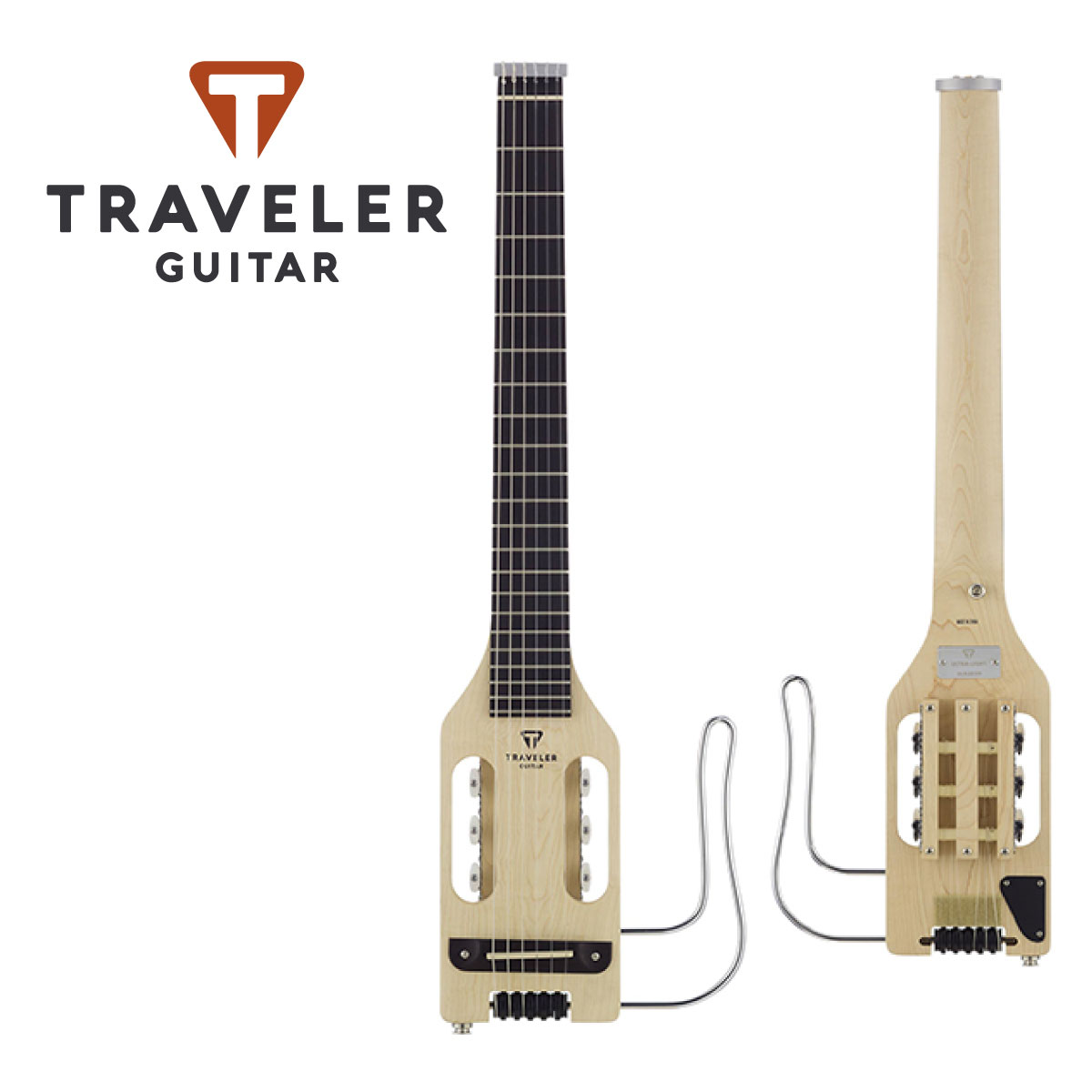 ギター, エレキギター Traveler Guitar Ultra-Light Nylon Natural,Mini Guitar,,Guitar,