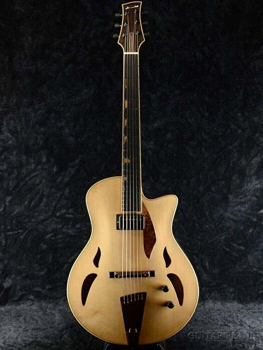 【当店オーダー品】Yamaoka Archtop Guitars StringsArt JG-1 -Mono tone- 新品[山岡則正][ナチュラル][フルアコ][Electric Guitar,エレキギター]