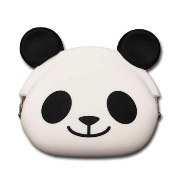 【シリコンがま口】mimi POCHIGMC502 スマイルパンダ パンダ ぱんだ 小銭入れ コインケース ☆☆☆☆