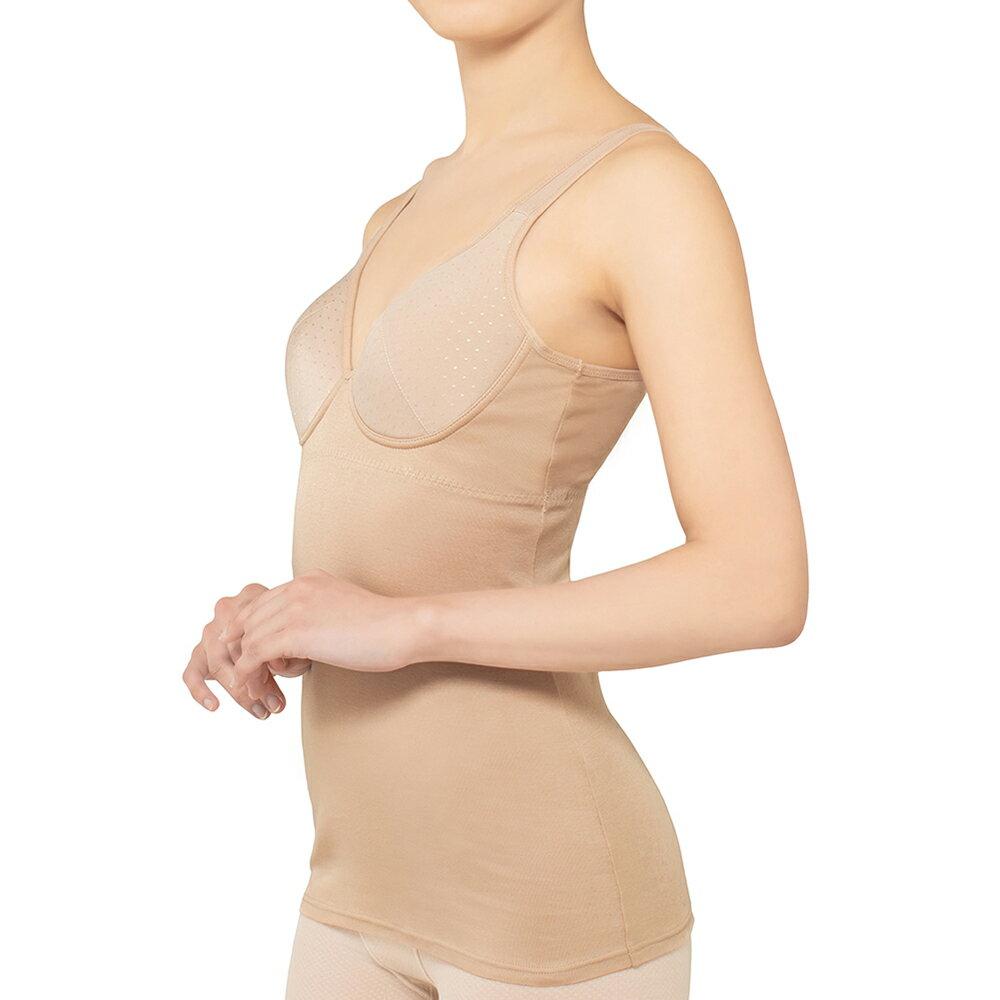 グンゼ キャミソール 肌側 綿100% インナー レディース GUNZE/KIREILABO(キレイラボ)/キャミソール(婦人)/TN2013H