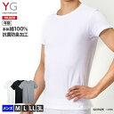 グンゼ YG Tシャツ 綿100 GUNZE 男性下着 クルーネックTシャツ(紳士)/YV0013N