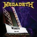 輸入盤 MEGADETH / RUST IN PEACE LIVE [CD]
