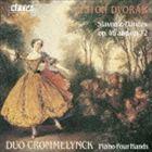 デュオ・クロムランク / ドヴォルザーク:スラヴ舞曲 作品46&72 [CD]