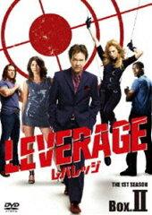 [DVD] レバレッジ シーズン1 DVD BOX-II