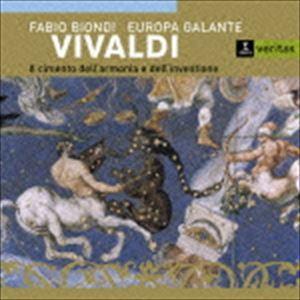 ファビオ・ビオンディ(vn、cond) / 協奏曲集『和声と創意への試み』(「四季」他) [CD]