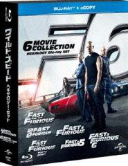 [Blu-ray] ワイルド・スピード ヘキサロジーBlu-ray SET〈初回生産限定〉