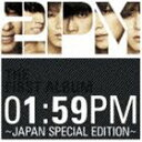 【21%OFF】★告知ポスター付き!(外付け)[CD] 2PM/【初回仕様!】 01:59PM ~ JAPAN SPECIAL...