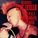 [CD] WAR PAINTED CITY INDIAN/W.P.C.I. DYNAMITE YEARS(CD+DVD)