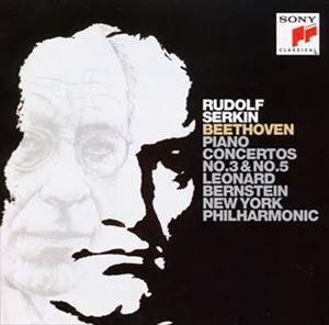 ルドルフ・ゼルキン / ベートーヴェン: ピアノ協奏曲第3番&5番 [CD]