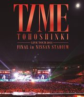 東方神起 LIVE TOUR 2013 〜TIME〜 FINAL in NISSAN STADIUM [Blu-ray]