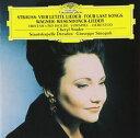 R.シュトラウス:4つの最後の歌/ワーグナー:「トリスタンとイゾルデ」より前奏曲と愛の死,他 [CD]