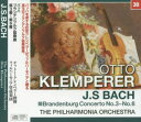 クレンペラー/バッハ:ブランデンブルク協