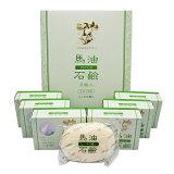 【正規品】薬師堂 ソンバーユ 馬油石鹸<ヒノキの香り>6個入 (石けん) 85g×6
