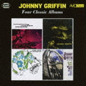 ジョニー・グリフィン / フォー・クラシック・アルバムズ イントロデューシング・ジョニー・グリフィン/ア・ブローイング・セッション/ザ・コングレゲーション/ウェイ・アウト [CD]