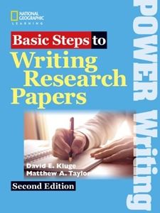 Basic Steps to Writing Research Papers 2nd Edition Student Book