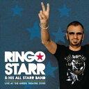 ぐるぐる王国 楽天市場店で買える「輸入盤 RINGO STARR / LIVE AT THE GREEK THEATRE 2008 [CD]」の画像です。価格は1,302円になります。