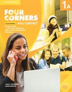 Four Corners 2/E Level 1 Full Contact A with Self-study