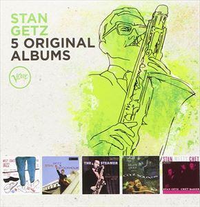 【輸入盤】STAN GETZ スタン・ゲッツ/5 ORIGINAL ALBUMS (LTD)(CD)