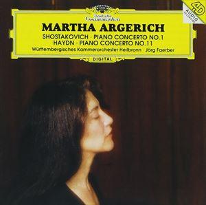 ショスタコーヴィチ&ハイドン:ピアノ協奏曲集 [CD]