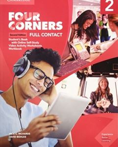 Four Corners 2/E Level 2 Full Contact with Self-study