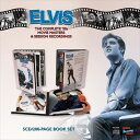 輸入盤 ELVIS PRESLEY / COMPLETE 50'S MOVIE MASTERS AND SESSION RECORDINGS [5CD+BOOK]