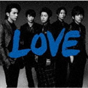 《送料無料》嵐/LOVE(通常盤)(CD)
