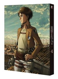 TVアニメ「進撃の巨人」Season3 Vol.4 (初回仕様) [DVD]