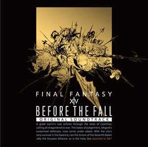 Blu-ray, その他 BEFORE THE FALL FINAL FANTASY XIV Original SoundtrackBlu-ray Disc Music