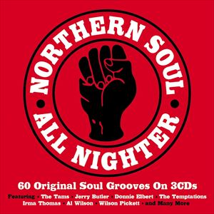 輸入盤 VARIOUS / NORTHERN SOUL ALL NIGHTER [3CD]