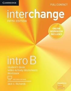 Interchange 5th Edition Intro Full Contact B with Online Self-Study and Online Workbook