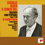 スヴャトスラフ・リヒテル(p)/幻のカーネギー・ホール・ライヴ1960第2夜 プロコフィエフ: 戦争ソナタ第6番&第8番(Blu-specCD2)(CD)