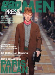 gap PRESS MEN vol.36(2014-2015Autumn & Winter)