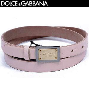 DOLCE&GABBANA皮带徽标金属板粉红色BE0795 A1889 87210 13A(R29800)[免费送货] [smtb-TK]