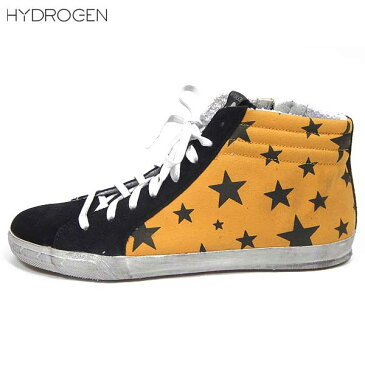 【送料無料】 ハイドロゲン(HYDROGEN) メンズ スター ハイカット スニーカー 靴 148300 418 【楽ギフ_包装】 【smtb-tk】 14S