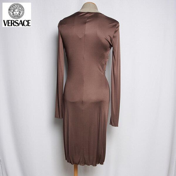 ヴェルサーチ Versace  レディース ドレス ワンピース 0946451 150 VER ブラウン (R243724)【smtb-TK】