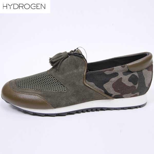 ハイドロゲン(HYDROGEN) メンズ メンズ スリッポン スニーカー 靴 163101  947  【楽ギフ_包装】【smtb-TK】  DB15S:ガッツ ブランドショップ
