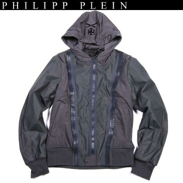 【送料無料】 フィリッププレイン(PHILIPP PLEIN) メンズ キルティング ナイロンジャケット